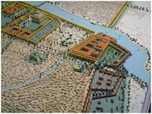 Plano de Babilonia cerca del año 2000 a.c.